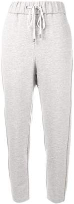 Peserico loose fitted track trousers