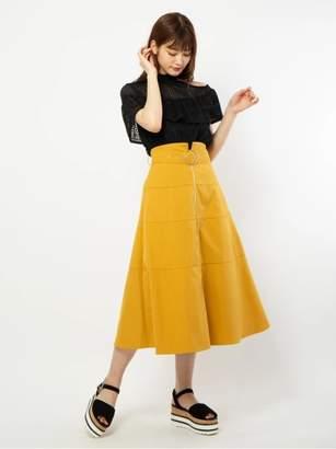 CECIL McBEE (セシル マクビー) - セシルマクビー フロントZIPスカート
