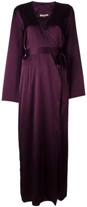 Gilda & Pearl 'Sophia Long Wrap' gown
