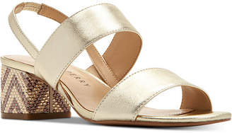 Katy Perry Annalie Smooth Metallic Sandals Women Shoes