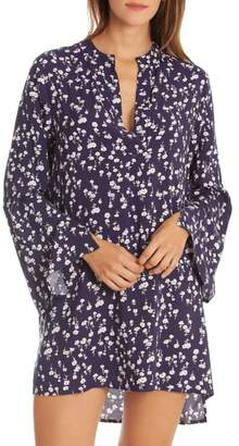 Jonquil In Bloom by Floral Sleep Shirt