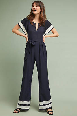 Eva Franco Watson Striped Jumpsuit