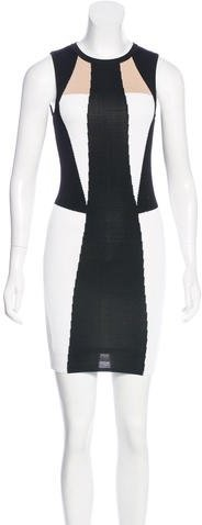 Torn by Ronny Kobo Colorblock Bodycon Dress