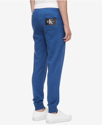 Calvin Klein Jeans Men's Monogram Fleece Pants
