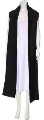 Rosetta Getty Virgin Wool-Blend Vest