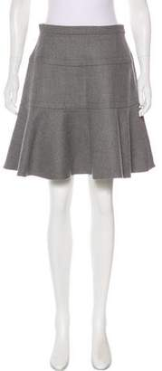 Miu Miu 2016 Wool Knee-Length Skirt