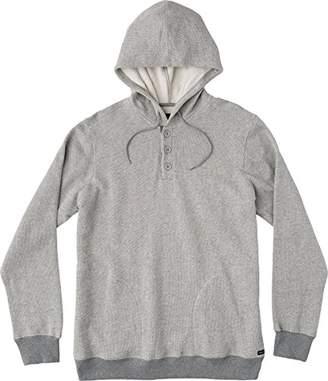 RVCA Men's Capo 3 Henley Hooded Sweatshirt