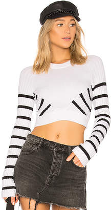 Alexander Wang Multi Direction Stripe Sweater