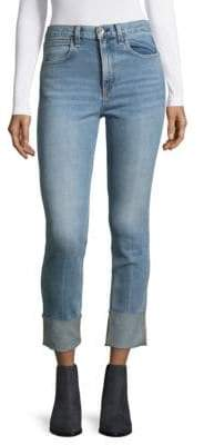 Rag & Bone Lou Cuffed Skinny Jeans