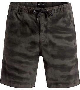 Quiksilver NEW QUIKSILVERTM Mens Battered Tie Dye Walk Short Shorts