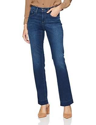 NYDJ Women's Marilyn Straight Leg with Release Pocket & Hem Jean
