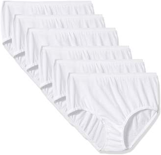 Fruit of the Loom Little Girls' Brief (Pack of 6)
