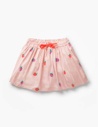 Boden Pretty Embroidered Skirt