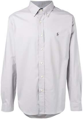 Polo Ralph Lauren logo button-down shirt