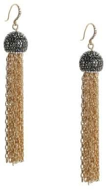 Zaxie By Stefanie Taylor Dazzle My Tassel Drop Earrings