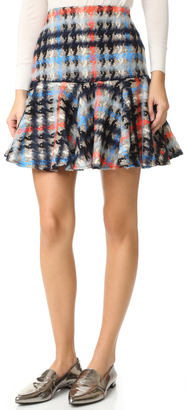 Milly Flounce Skirt $275 thestylecure.com