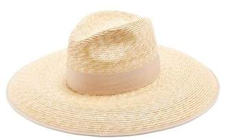 Gucci Embellished Straw Hat - Womens - Beige
