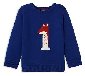 Jacadi Boys' Fox Intarsia Sweater - Baby