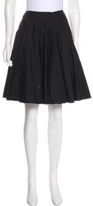 Alaia Knee-Length A-Line Skirt
