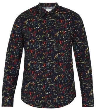 Paul Smith Floral Print Cotton Shirt - Mens - Multi