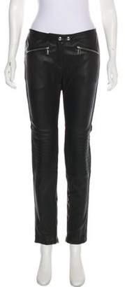 Belstaff Mid-Rise Skinny Pants w/ Tags Black Mid-Rise Skinny Pants w/ Tags