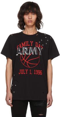 Amiri Black Vintage Army T-Shirt