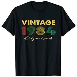 1984 Vintage Funny 34th Birthday Gift T Shirt