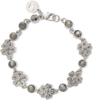 Liz Claiborne Marcasite Flower Boxed Bracelet