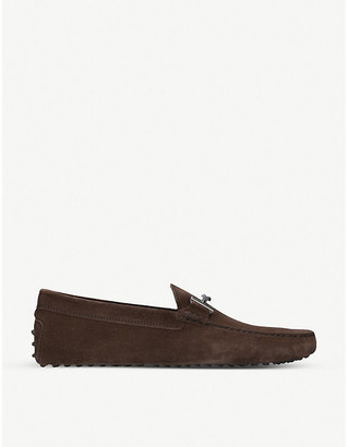 Tod's Tods Gommino suede moccasins