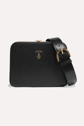 Mark Cross Juliana Textured-leather Shoulder Bag - Black
