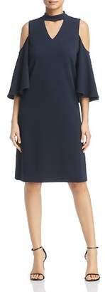 Nic+Zoe Cold-Shoulder Cutout Dress