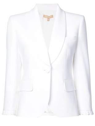 Michael Kors ruffle-cuff blazer