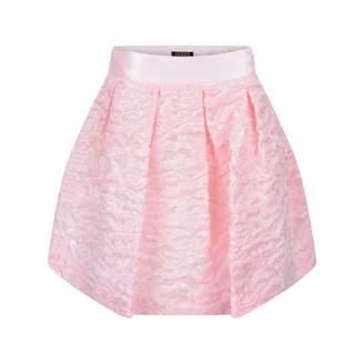 Gianfranco Ferre Gianfranco FerreGirls Pink Silk Jacquard Skirt