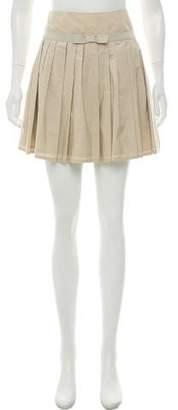 Allegri Knife Pleated Mini Skirt w/ Tags