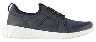Fabric Mens Cerro Trainers Runners Lace Up Lightweight Textured