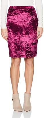 Star Vixen Women's Knee Length Classic Stretch Pencil Skirt