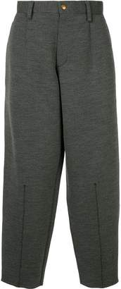 Kolor cropped tapered trousers