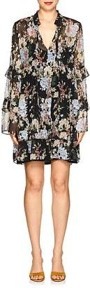 Robert Rodriguez Women's Floral Silk Chiffon Shift Dress