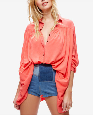 Free People Lovely Day Long-Sleeve Shirt $108 thestylecure.com