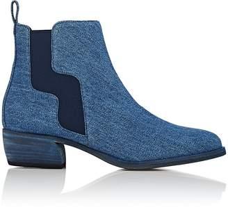 Pierre Hardy Women's Gipsy Denim Chelsea Boots