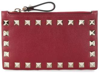 Valentino Rockstud coin purse card case