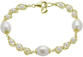 Brilliance+ FINE JEWELRY Cultured Freshwater Pearl & Brilliance Bead Bracelet