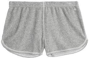 Rag & Bone Cotton-Blend Mélange Mini Shorts