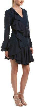 C/Meo Collective Ruffle Cocktail Dress