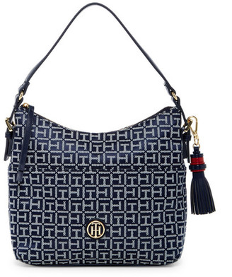 Tommy Hilfiger Summer of Love Small Hobo $98 thestylecure.com