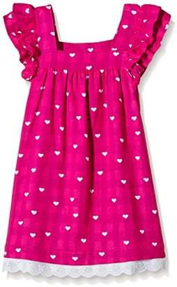 Hatley Girl's Girls Flutter Sleeve Little Hearts Dress