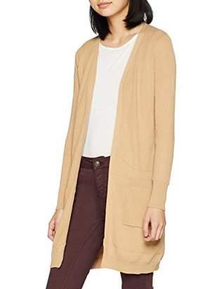 81e52a22ede Dorothy Perkins Women s Camel Pocket Cardigan Beige (Size )