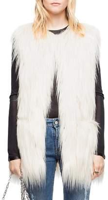 Zadig & Voltaire Fire Faux-Fur Vest