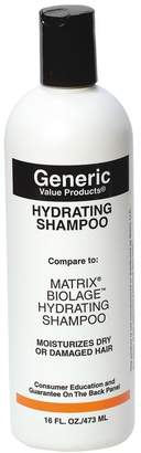 Biolage Generic Value Products Hydrating Shampoo Compare to Matrix Hydrating Shampoo