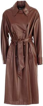 Blumarine Be Trench Eco Leather